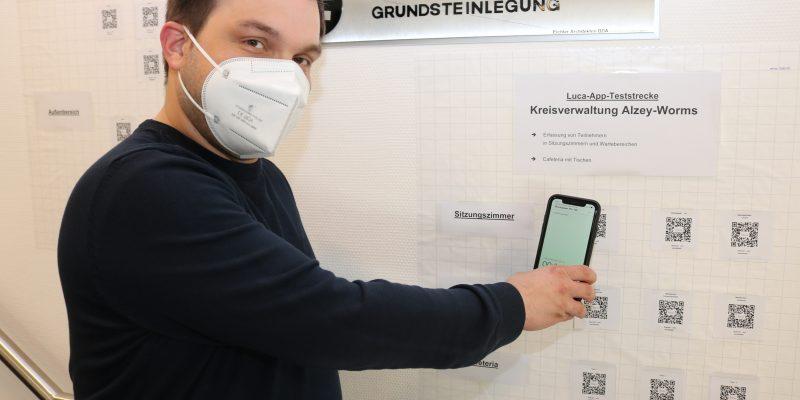 Der Verwaltungsleiter des Gesundheitsamtes Alzey-Worms und in der Stadt Worms